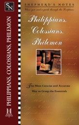 Shepherd's Notes on Philippians, Colossians & Philemon - eBook