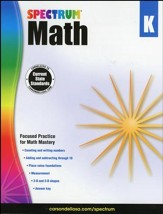 Spectrum Math Grade K (2014 Update)