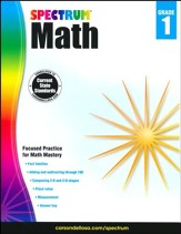 Spectrum Math Grade 1 (2014 Update)