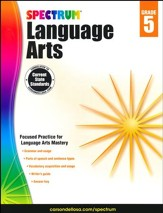 Spectrum Language Arts Grade 5 (2014 Update)