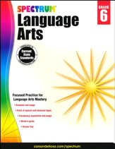 Spectrum Language Arts Grade 6 (2014  Update)