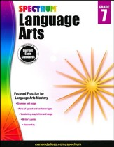 Spectrum Language Arts Grade 7 (2014 Update)