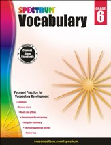 Spectrum Vocabulary Grade 6 (2014  Update)