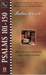 Shepherd's Notes on Psalms 101-150 - eBook