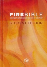 ESV Fire Bible Student Edition Hardcover - Slightly Imperfect
