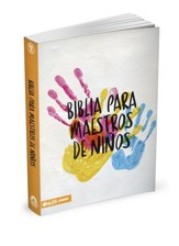 Biblia NBV para Maestros de Niños, Enc. Rústica  (NBV Bible for Sunday School Teachers, Softcover)