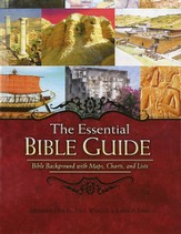 The Essential Bible Guide: Bible Background with Maps, Charts, and Lists - Slightly Imperfect
