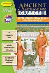 Ancient Civilizations Greece Interactive WhiteBoard CD-ROM