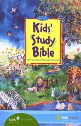 NIrV Kids' Study Bible Revised, hardcover