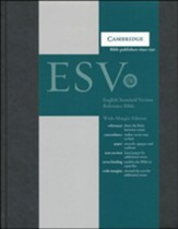 ESV Wide-Margin Reference, Hardcover