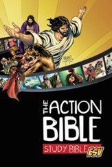 ESV Action Study Bible, Hardcover  - Slightly Imperfect