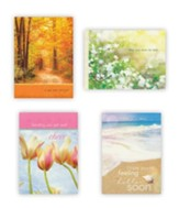 Tranquillity Get Well Cards, Box of 12