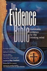The Evidence Bible: Irrefutable Evidence for the Thinking Mind Comfortable King James, Softcover - Slightly Imperfect
