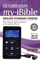 My-iBible, ESV, Voice-Only Digital Bible Player
