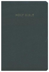 KJV Super Giant Print Reference Bible, Imitation leather, black , Hendrickson Publishers