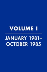 Reagan Diaries Volume 1: January 1981-October 1985 - eBook