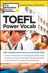 TOEFL Power Vocab (Test of English as a Foreign Language)