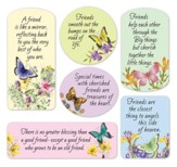 Butterfly Friendship Magnets, Set of 6