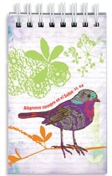 Alégrense En El Señor, Libreta En Espiral    (Rejoice In The Lord, Wirebound Notepad)