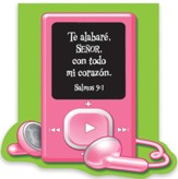 Te Alabaré, Señor, Bloc De Notas  (I Will Praise You, Lord, Notepad)