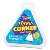 Three-Corner Flash Cards (Addition  and Subtraction)
