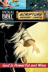 CSB Action Bible Scripture Memory Cards Q1