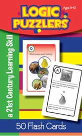 Logic Puzzlers Flash Cards, Ages  9-10
