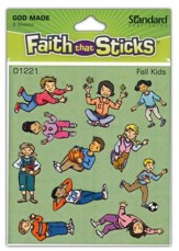 Stickers: Fall Kids