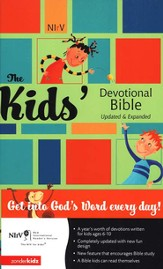 NIrV Kid's Devotional Bible, Updated & Expanded Hardcover - Slightly Imperfect