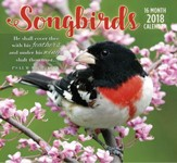 2018 Wall Calendar, Songbirds