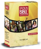 Action Bible Preteen Curriculum Print Quarterly Kit Q2
