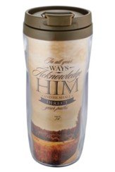 In All Ways Acknowledge Him Travel Mug