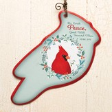 Peace, Luke 2:14, Ornament