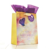 May God Grant Your Heart's Desires Giftbag, Medium