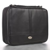 Two-Fold Organizer LuxLeather, Black, XL