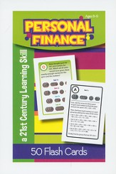 Personal Finance Flash Cards, Ages 8-9