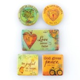 Peaceful Thoughts Magnet Set