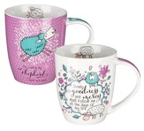 Psalm 23 Mug Gift Set, 2 Pieces