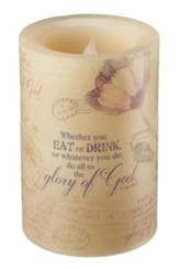 Glory of God LED Candle