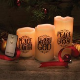 Christmas Candle Set