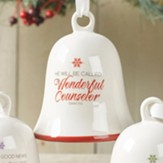 Wonderful Counselor Bell Ornament