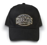 Strong and Courageous Cap, Black