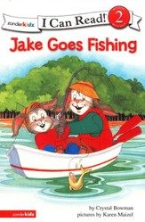 Jake Goes Fishing, I Can Read! Level 2 (Reading with Help)