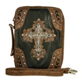 Fashion Cross Bible Cover, Black