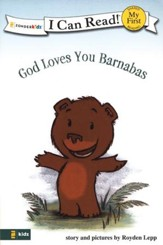 God Loves You Barnabas, My First I  Can Read! (Shared Reading)  - Slightly Imperfect
