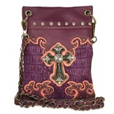 Fashion Cross Purse, Crossbody Purple / Peach
