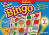 USA Bingo Game