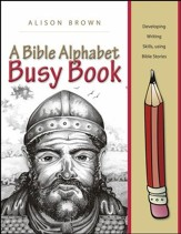 A Bible Alphabet Busy Book