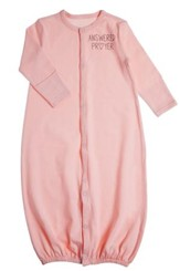 Answered Prayer Baby Gown, Convertible, Pink
