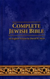 Complete Jewish Bible: 2017 Updated Edition, Hardcover - Imperfectly Imprinted Bibles